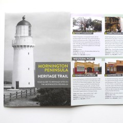 Design for Mornington Peninsula Heritage Trail